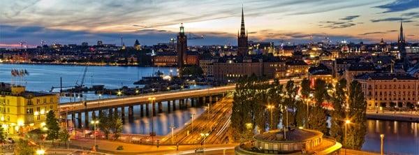 Stockholm Manzarası Facebook Kapağı