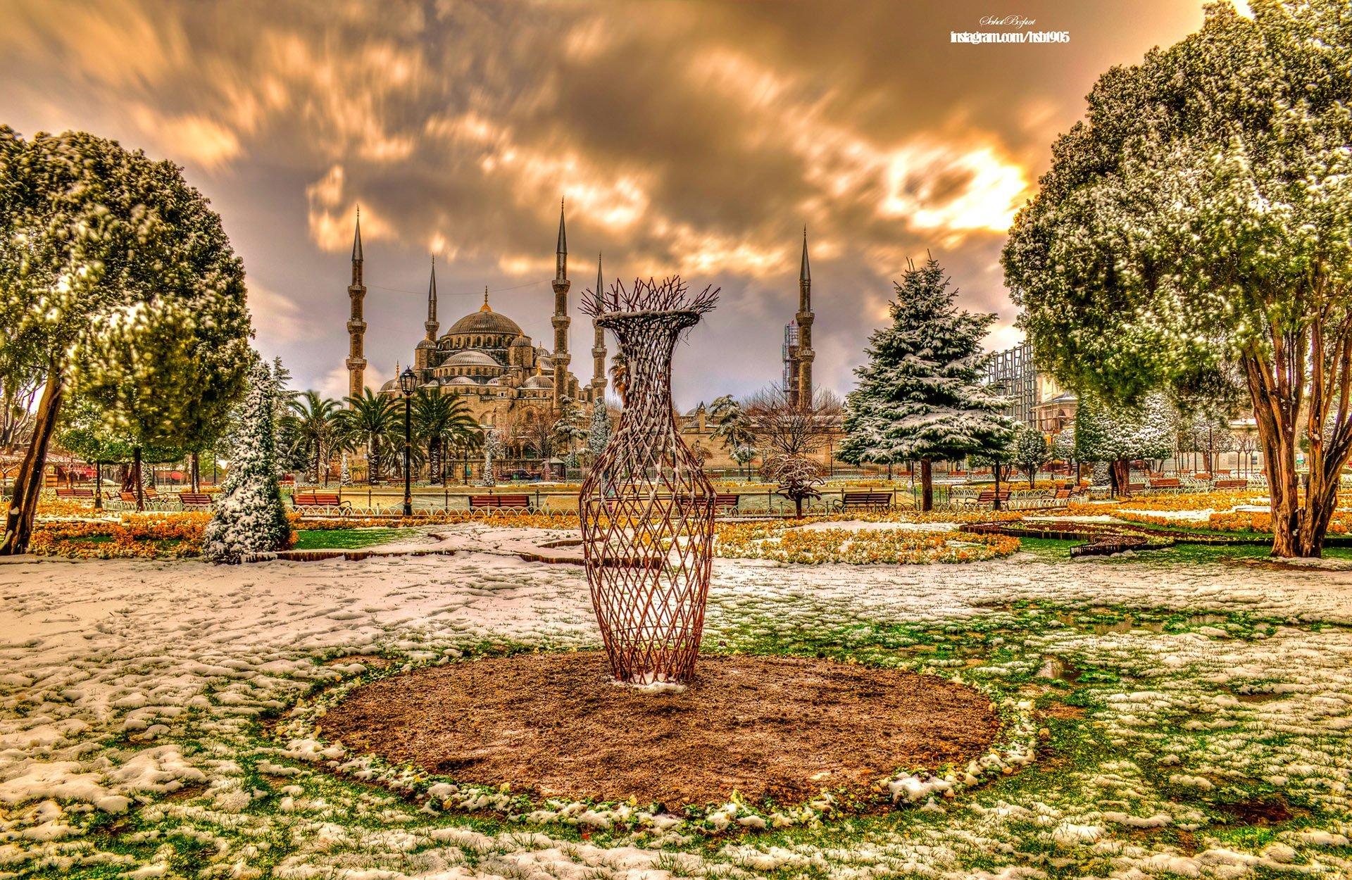 Sultanahmet Camii Şubat