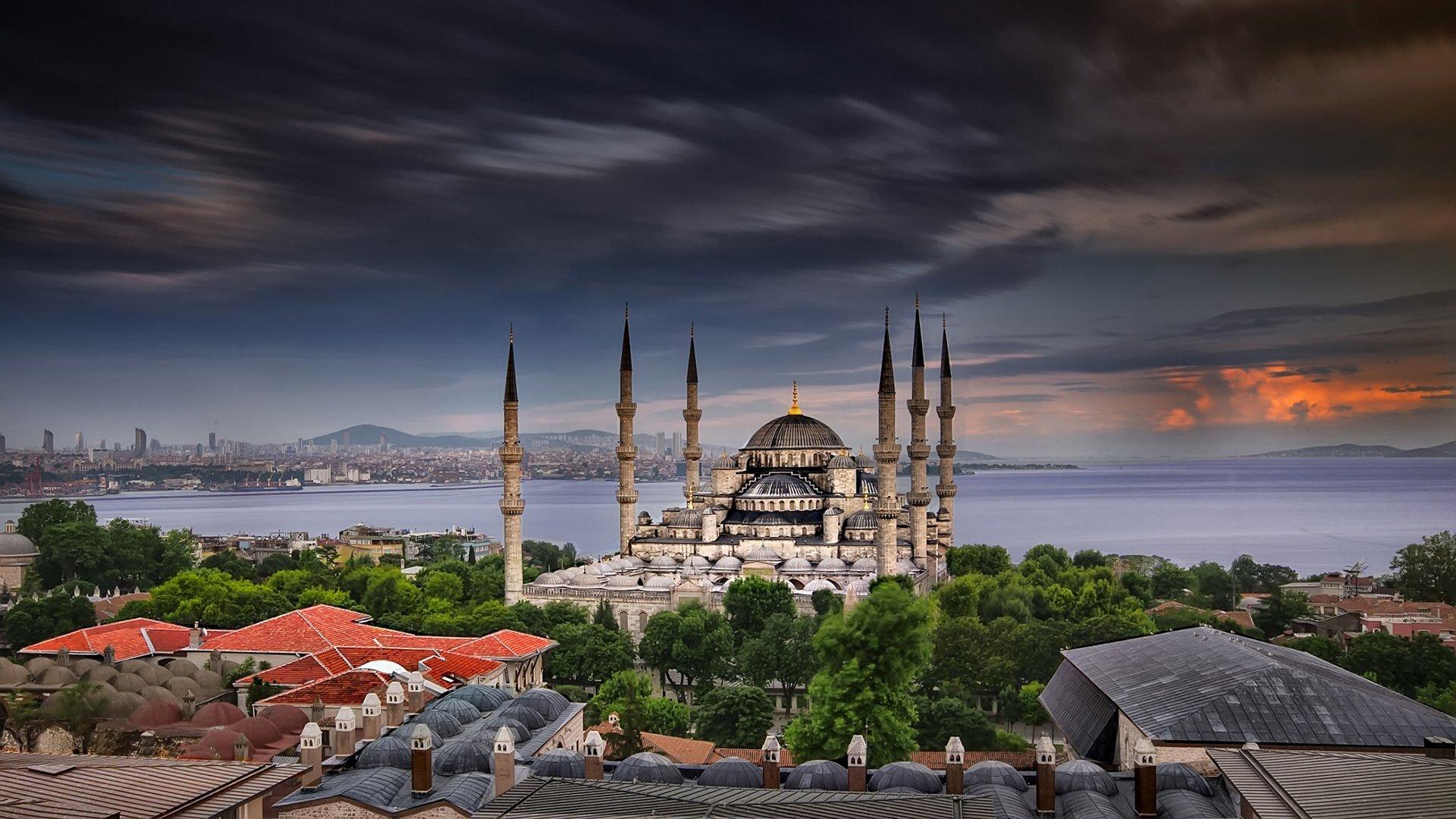 Sultanahmet Camii Uzun Pozlama