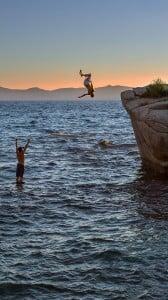 Tahoe Gölü iPhone 6
