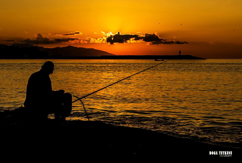 Trabzon'daki balıkçı