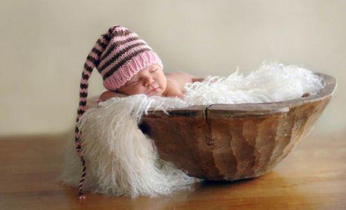 uyuyan güzel bebek