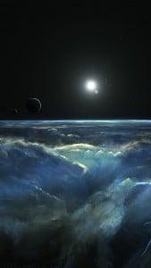 Uzay Manzarası iPhone 6