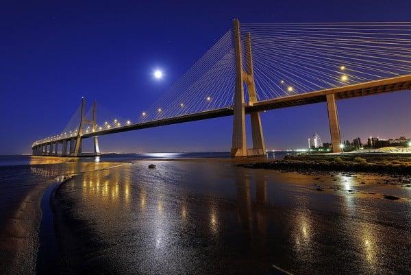 Vasco da Gama Köprüsü Resmi
