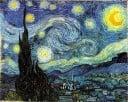Vincent van Gogh & Yıldızlı Gece