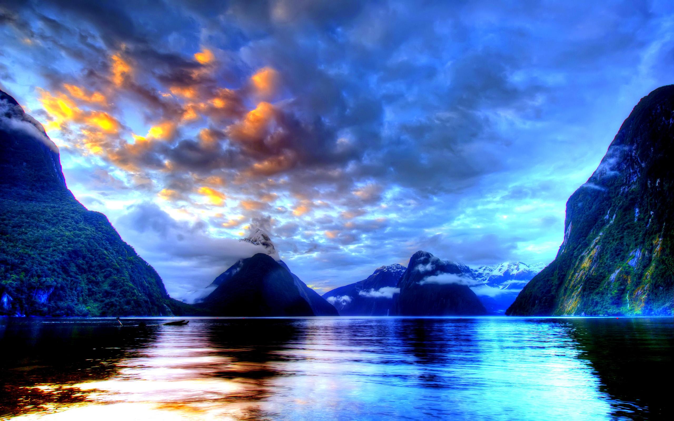Dağ Resimleri - Yüksek Kanyon Tepeleri