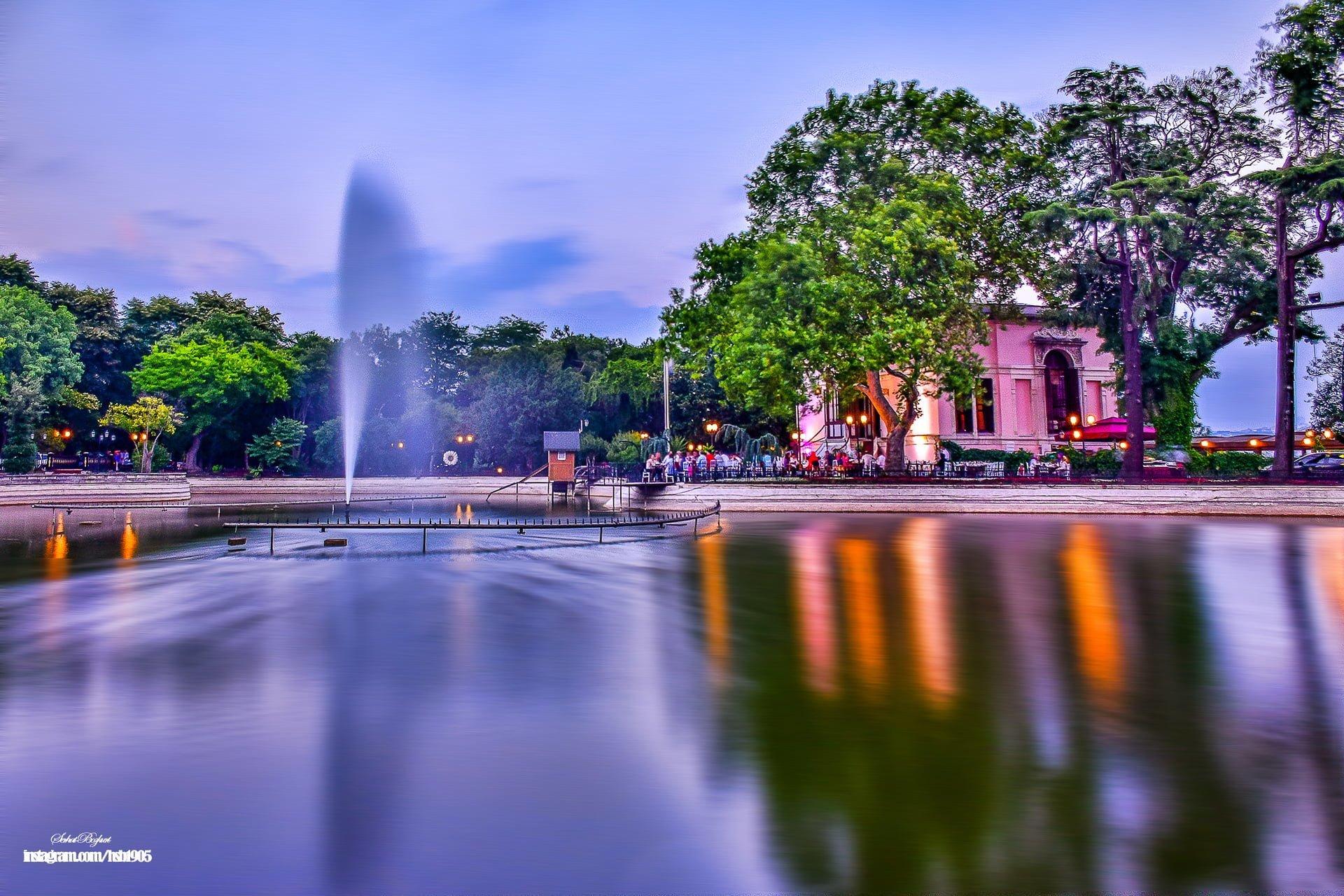 Yıldız Parkı havuz
