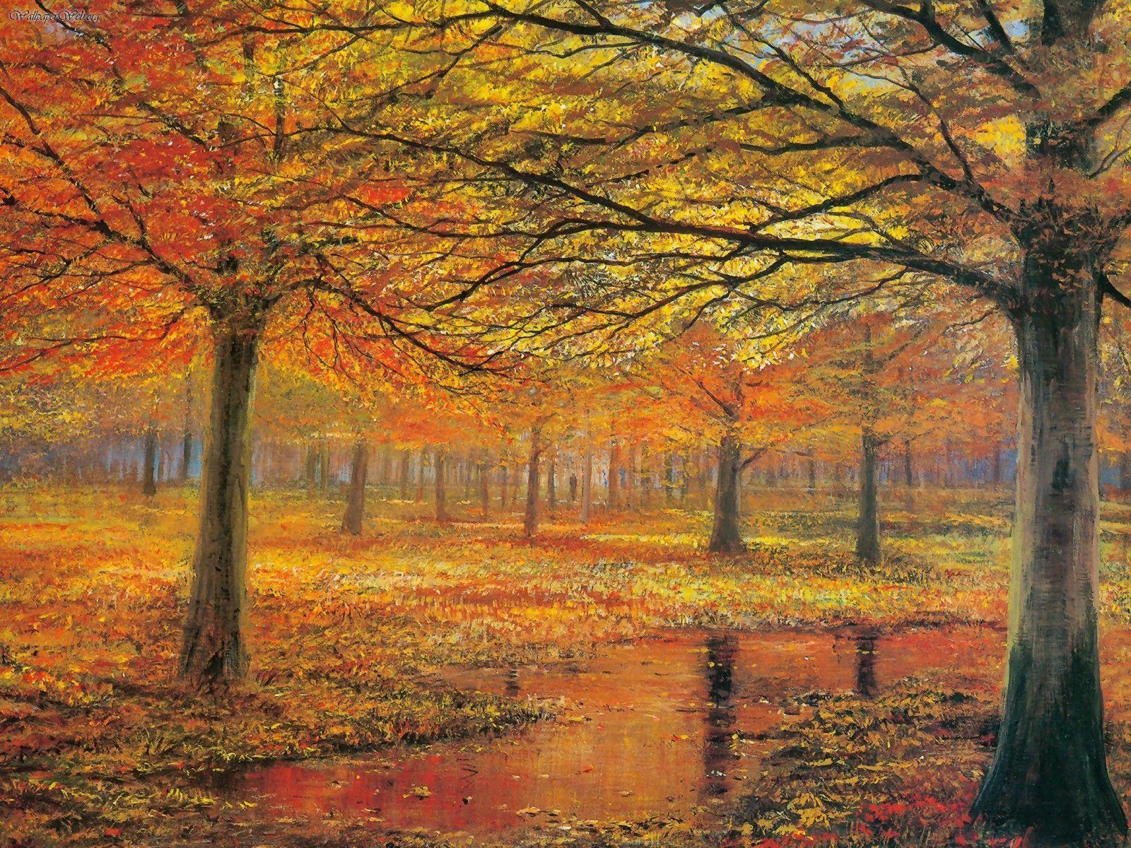 Yağmur Sonrası Sonbahar
