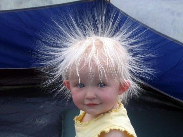 Yeni moda bebek saçları