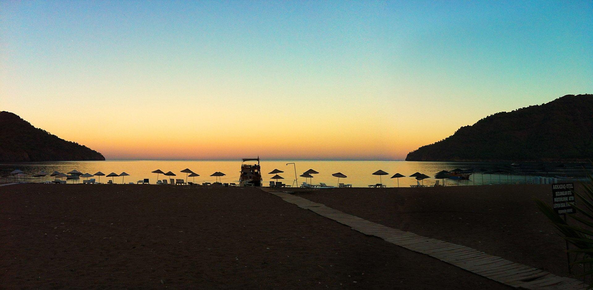adrasan plajı