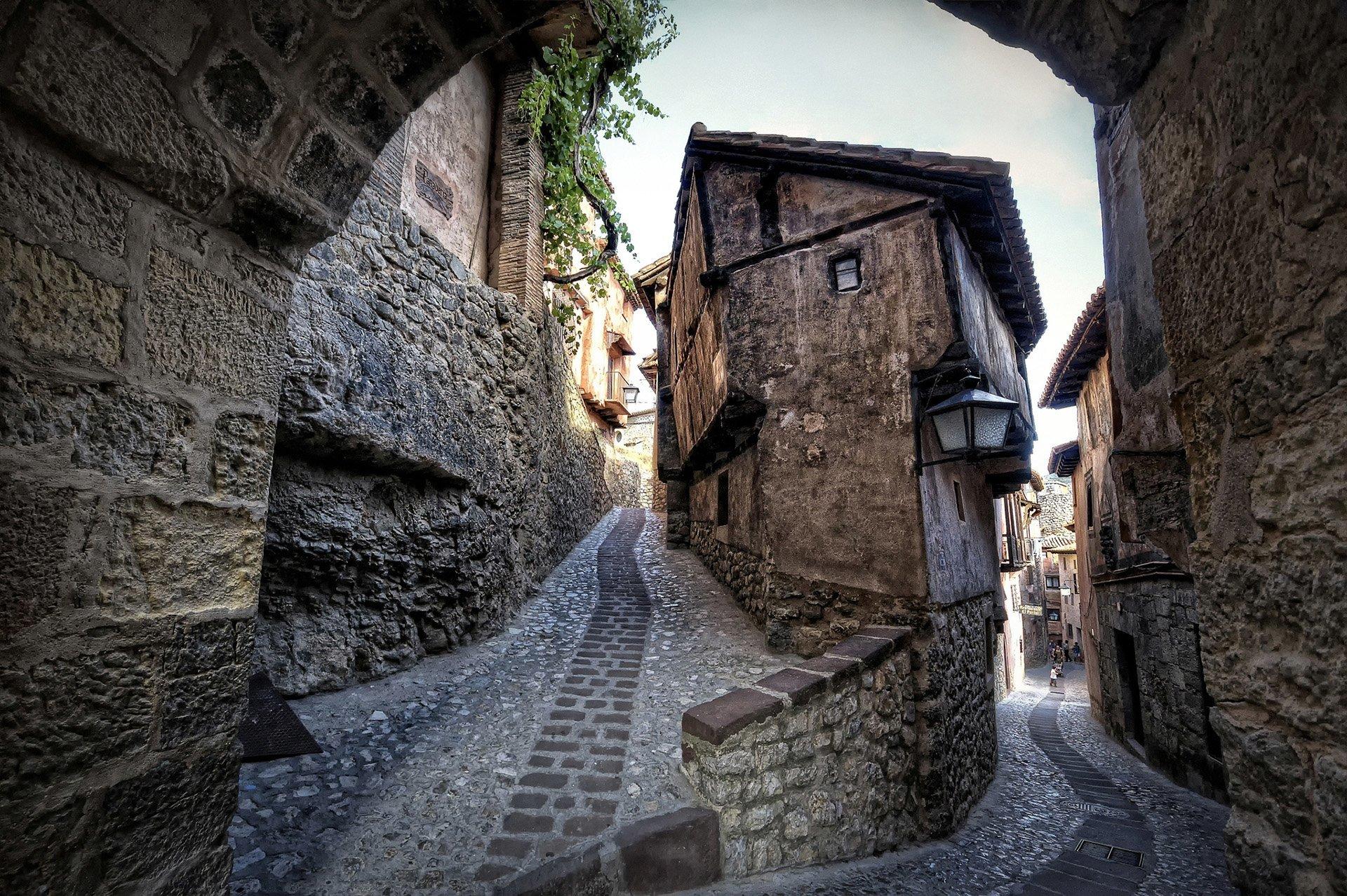 albarracin binaları