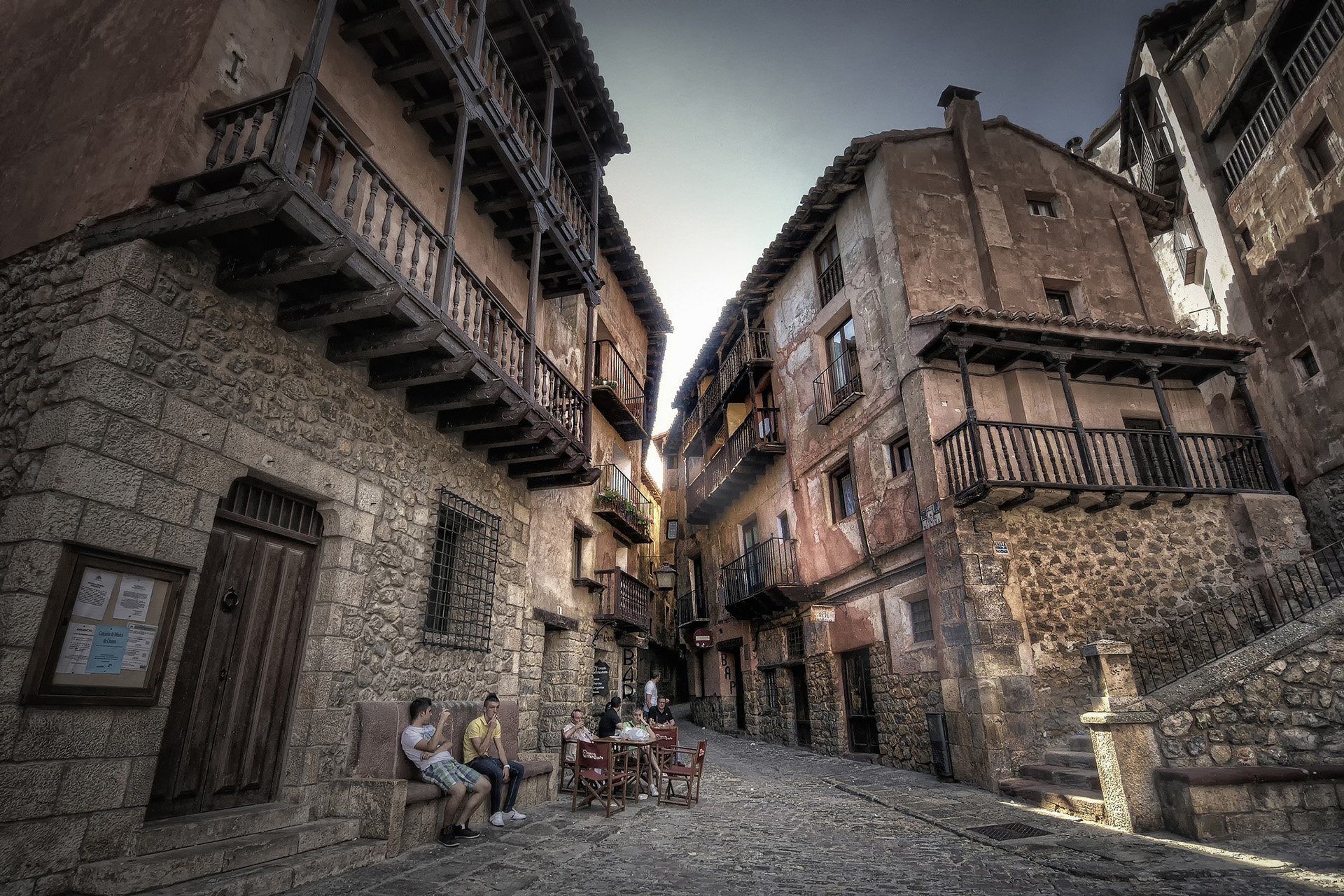 albarracin sokakları