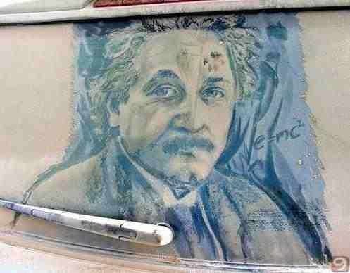 Albert Einstein komik resim