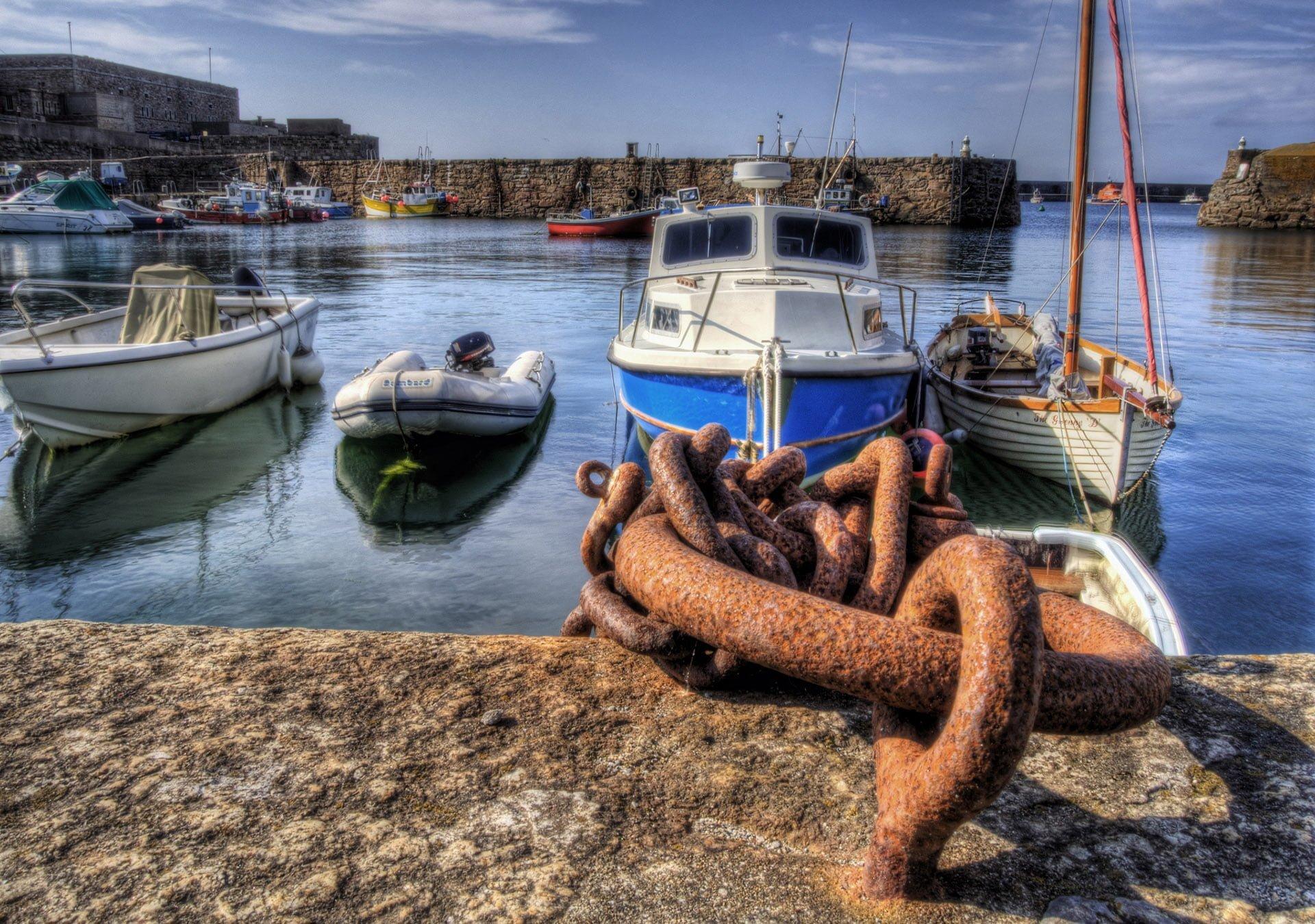 alderney liman ve zincir