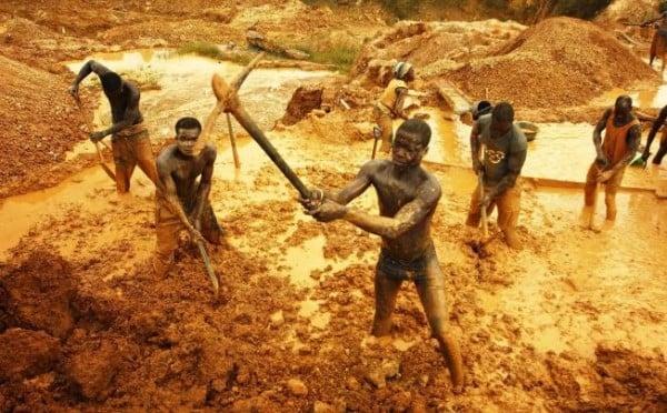 altın işçileri