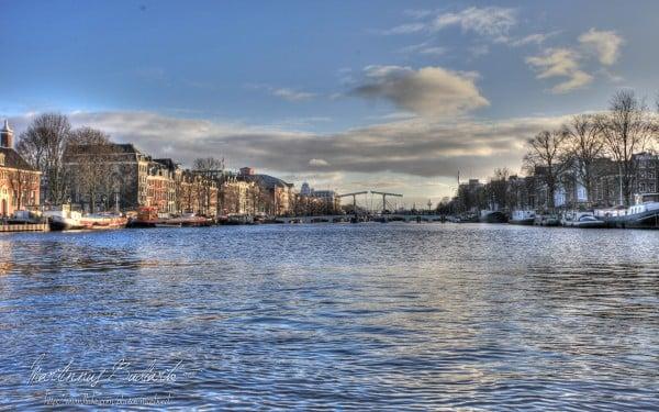 Amsterdam deniz manzarası
