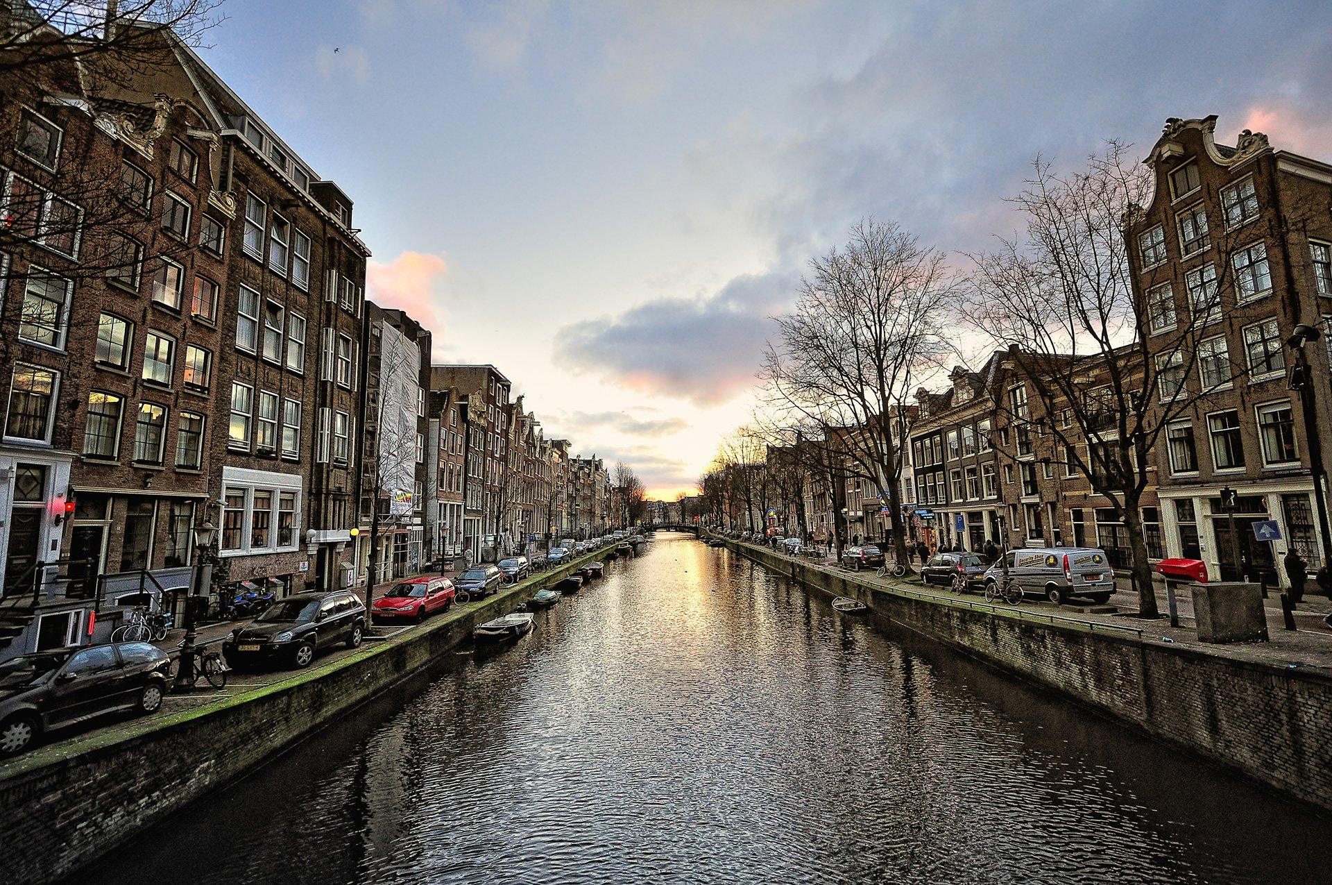amsterdam görüntüleri