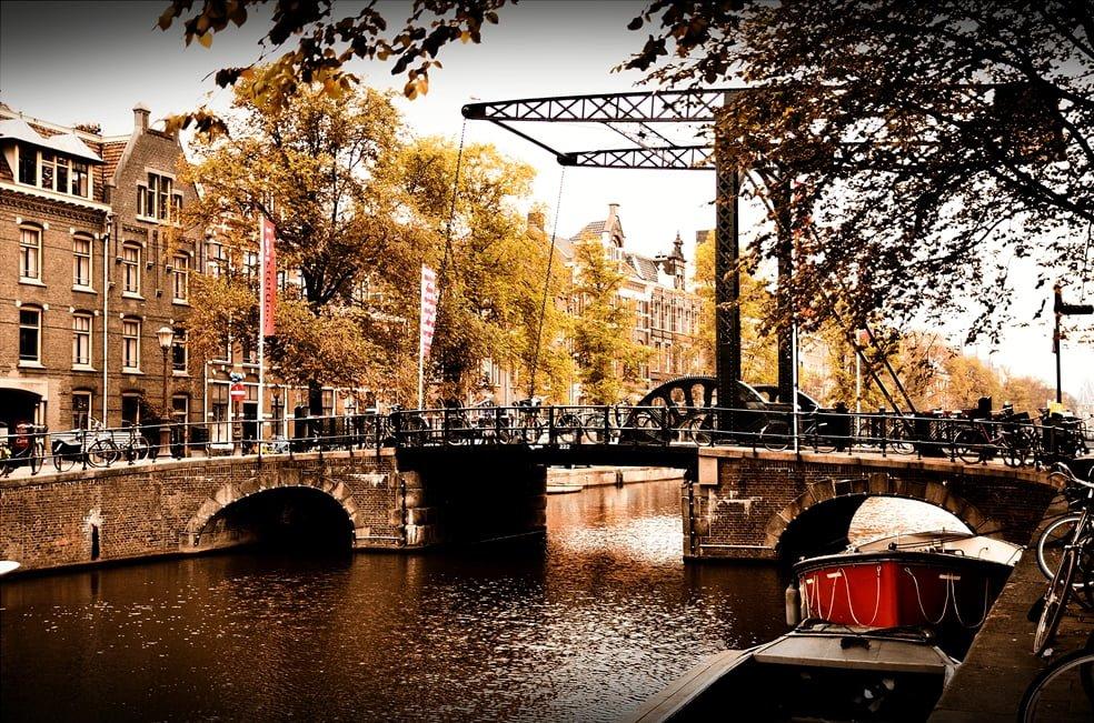 amsterdam manzaraları – 4