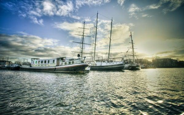 Amsterdam tekne resmi