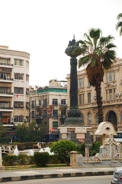 Şam anıt