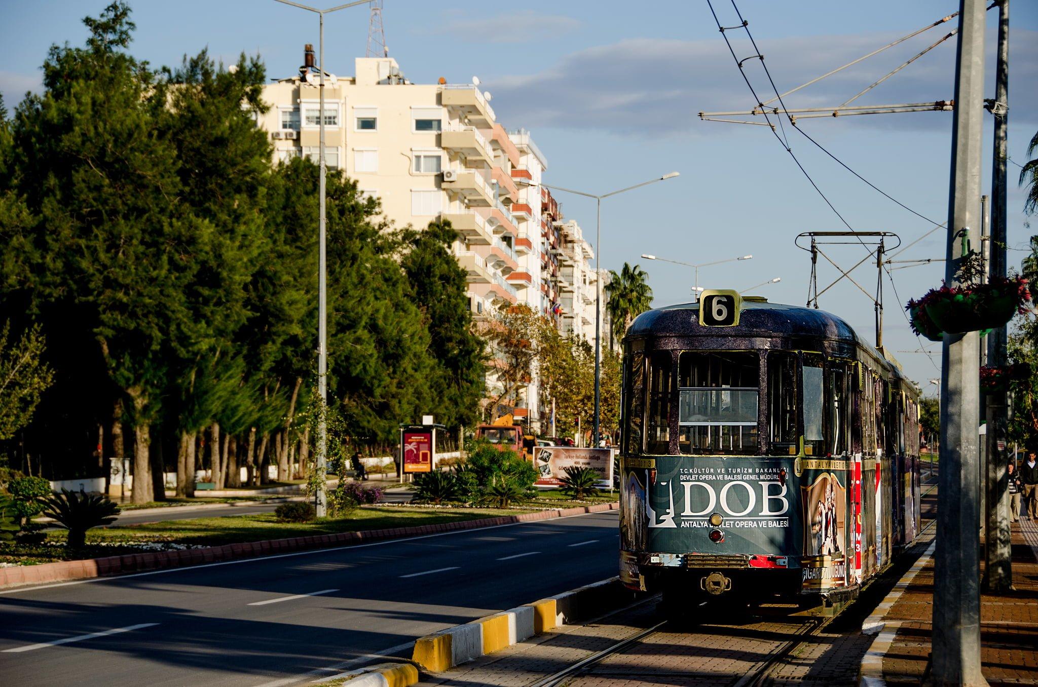 antalya tramvay
