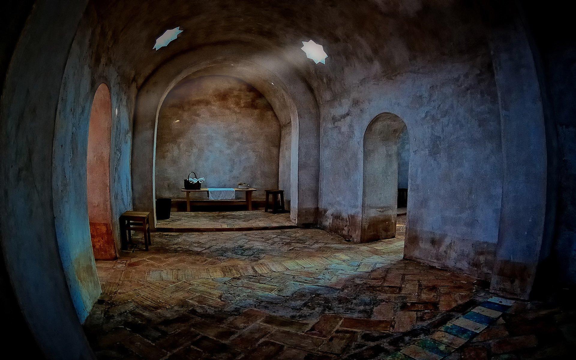 arap hamamı – sıcak oda
