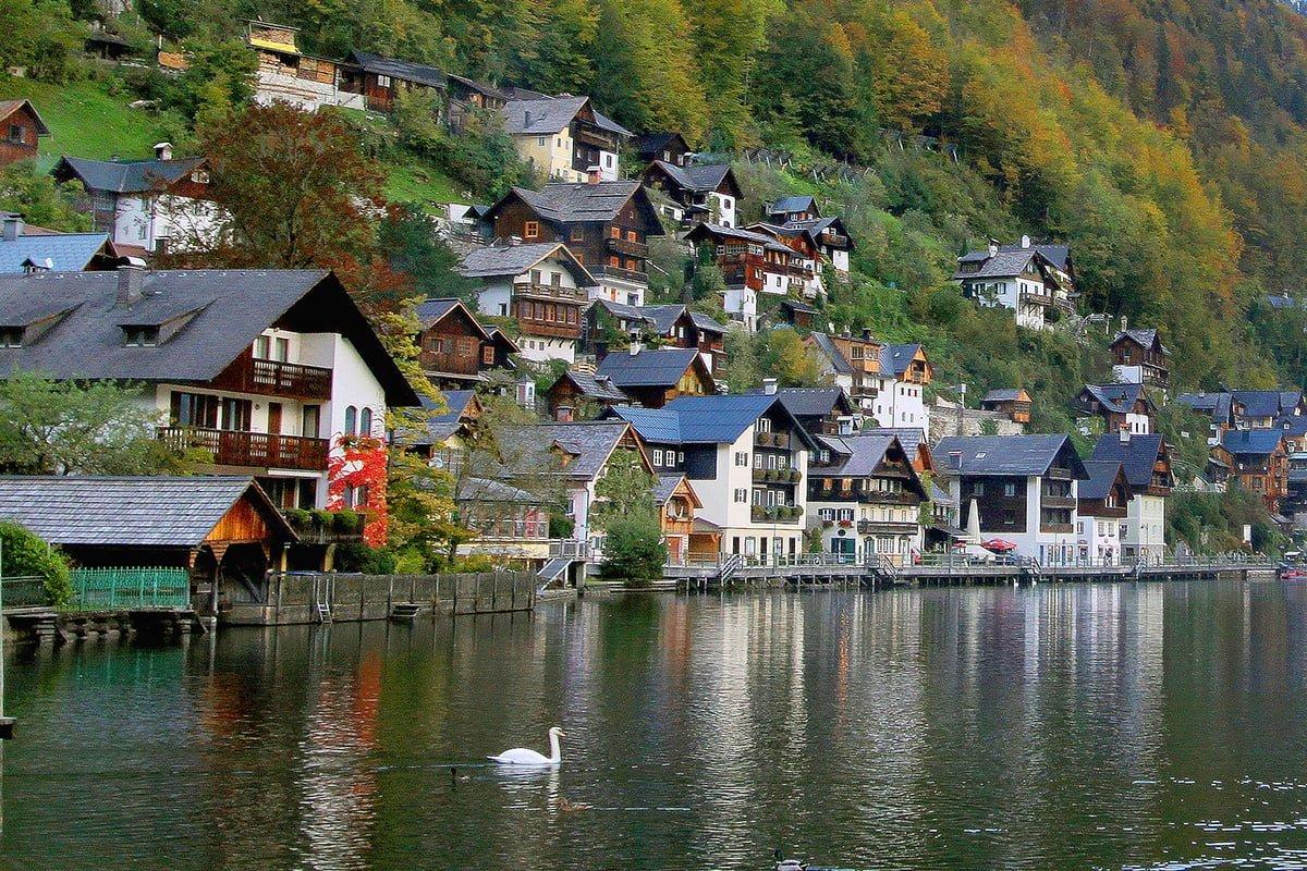 Avusturya – Hallstatt manzaraları