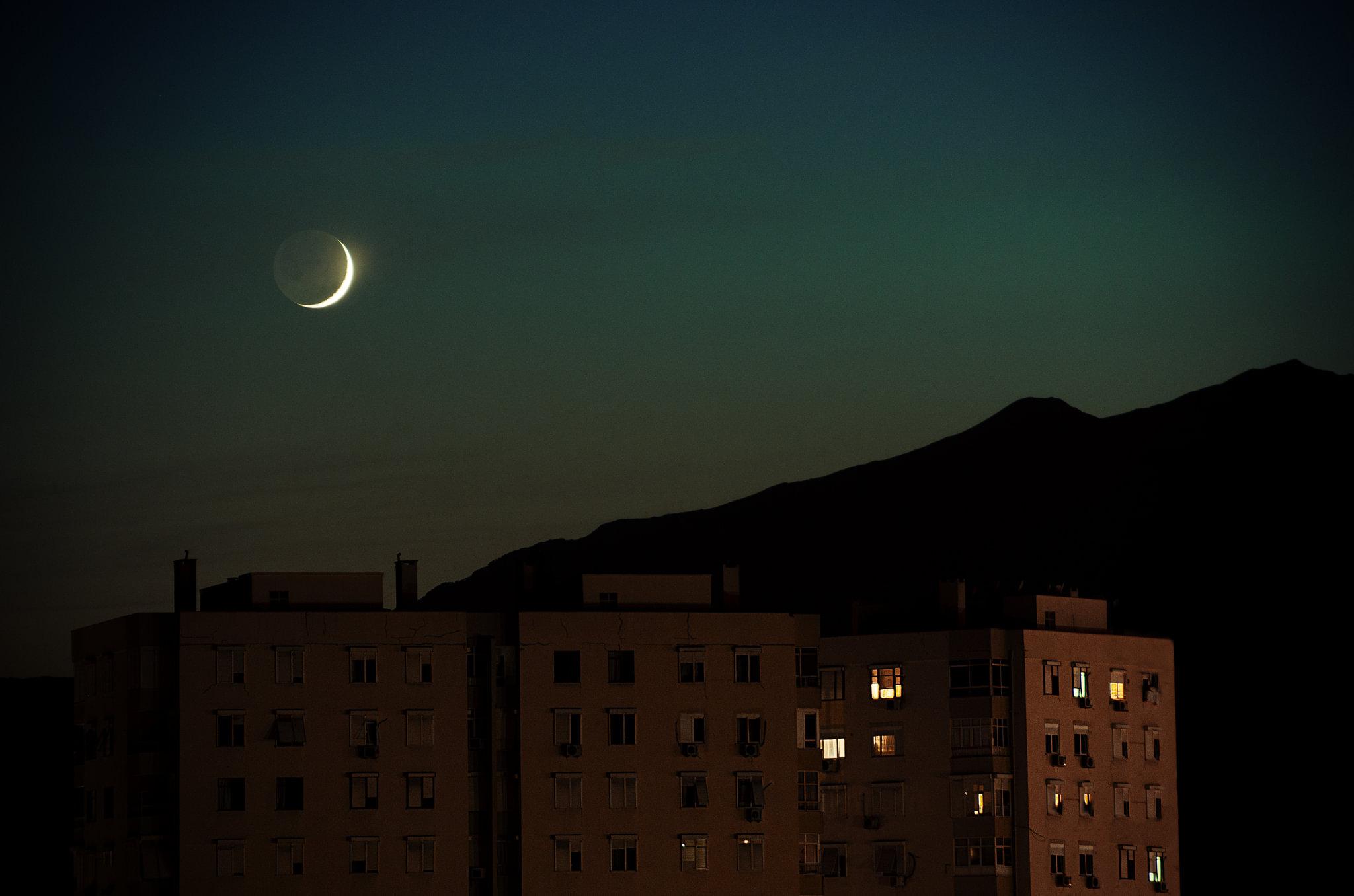 ay ışığı ve antalya