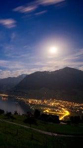 ay ışığı ve doğa 1080x1920