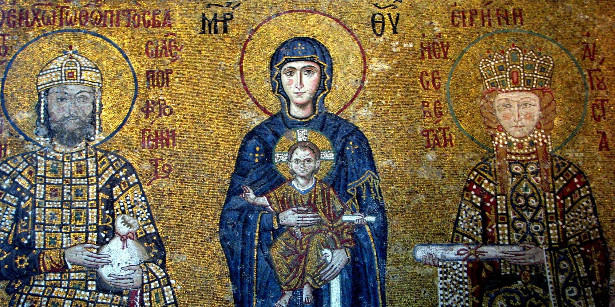 ayasofya mozaik