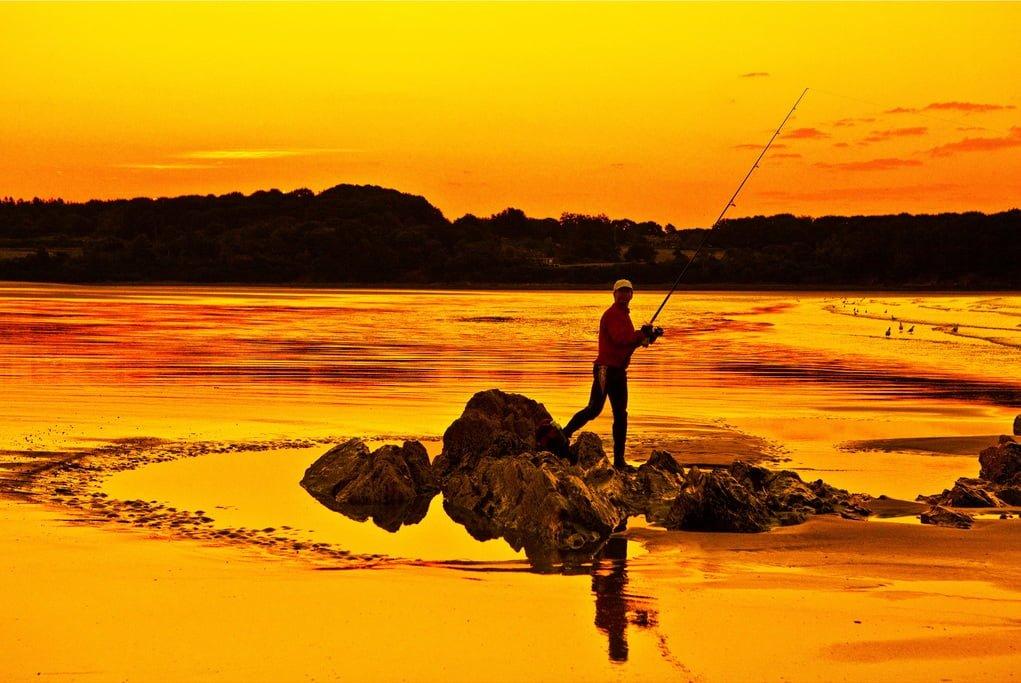 balıkçı ve manzara