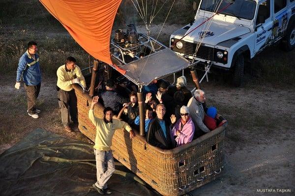 kapadokya balonları