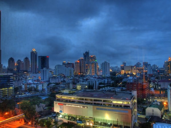 bangkok hdr gece