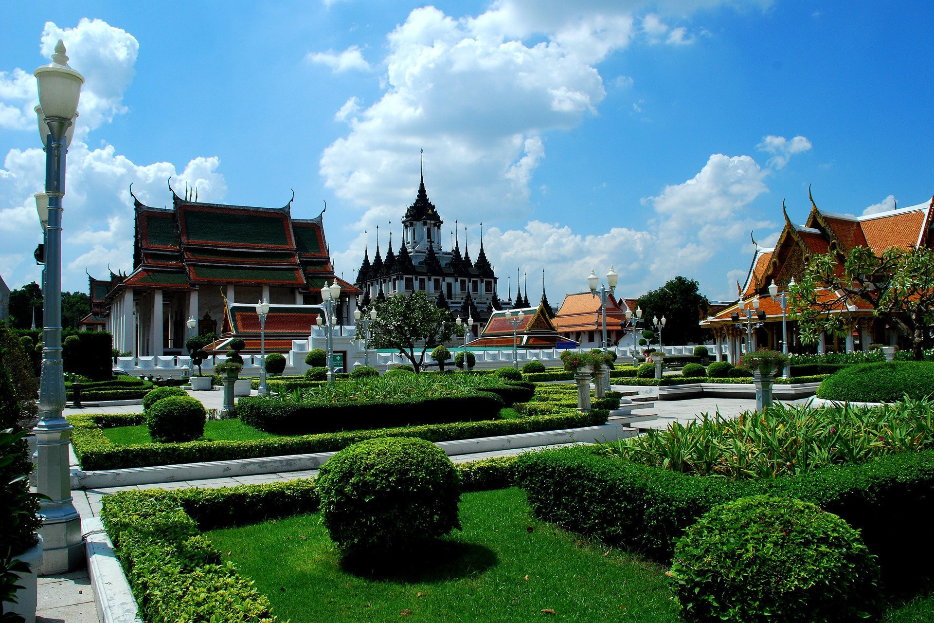 bangkok manzarası