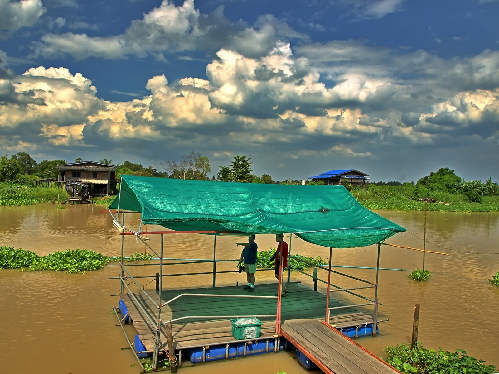 bangkok nehir iskele