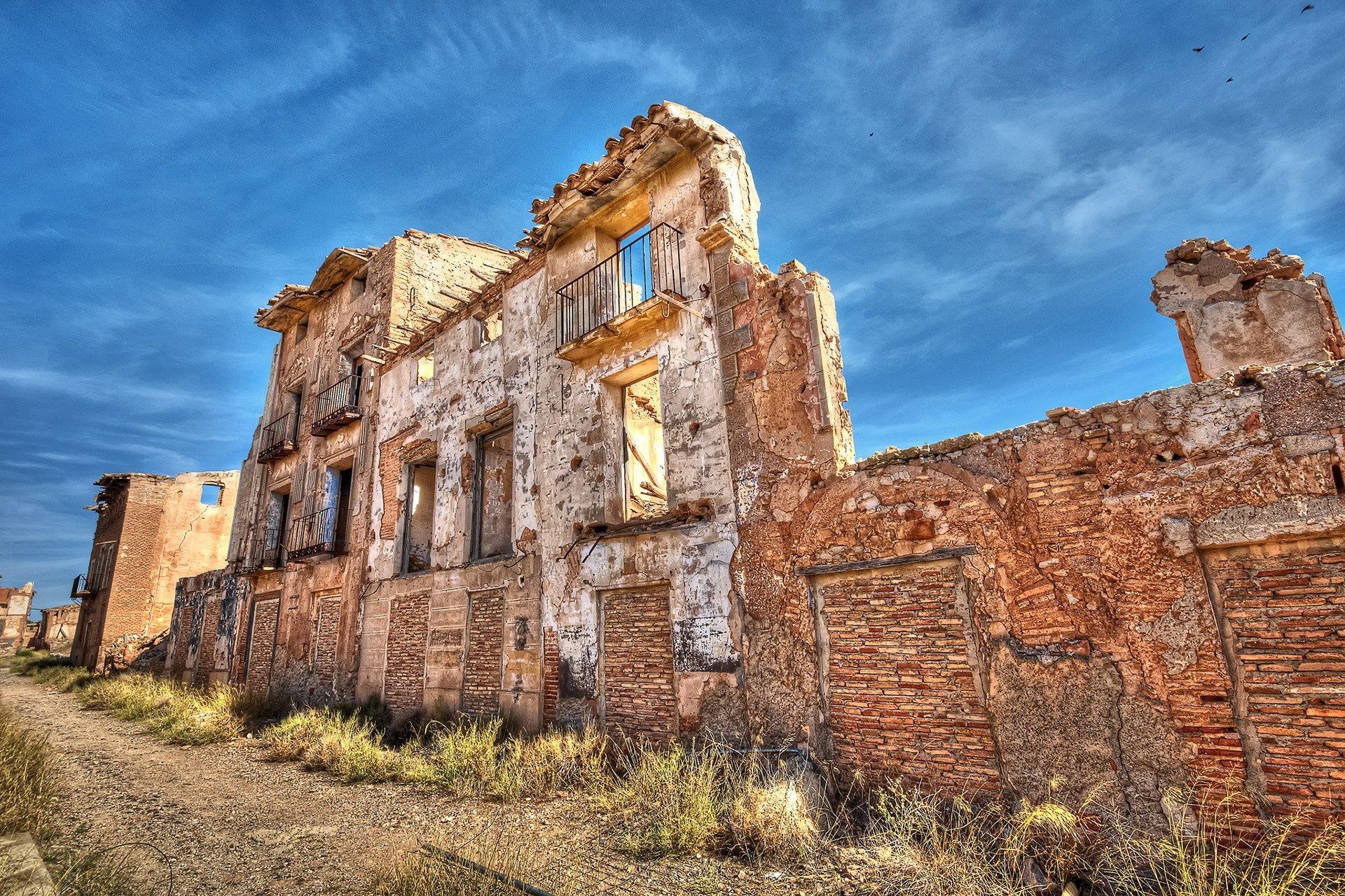 belchite tarihi evler