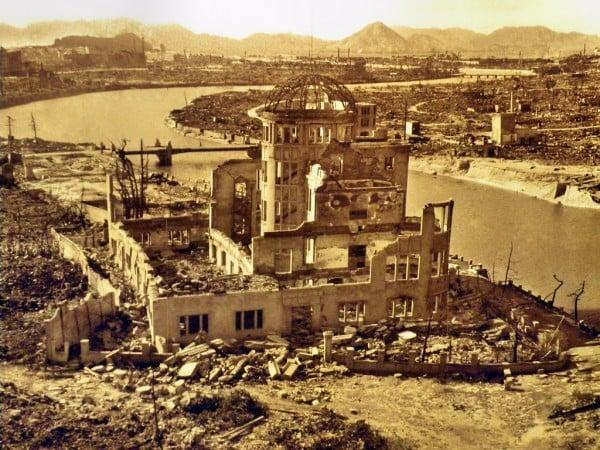 bomba sonrası şehir