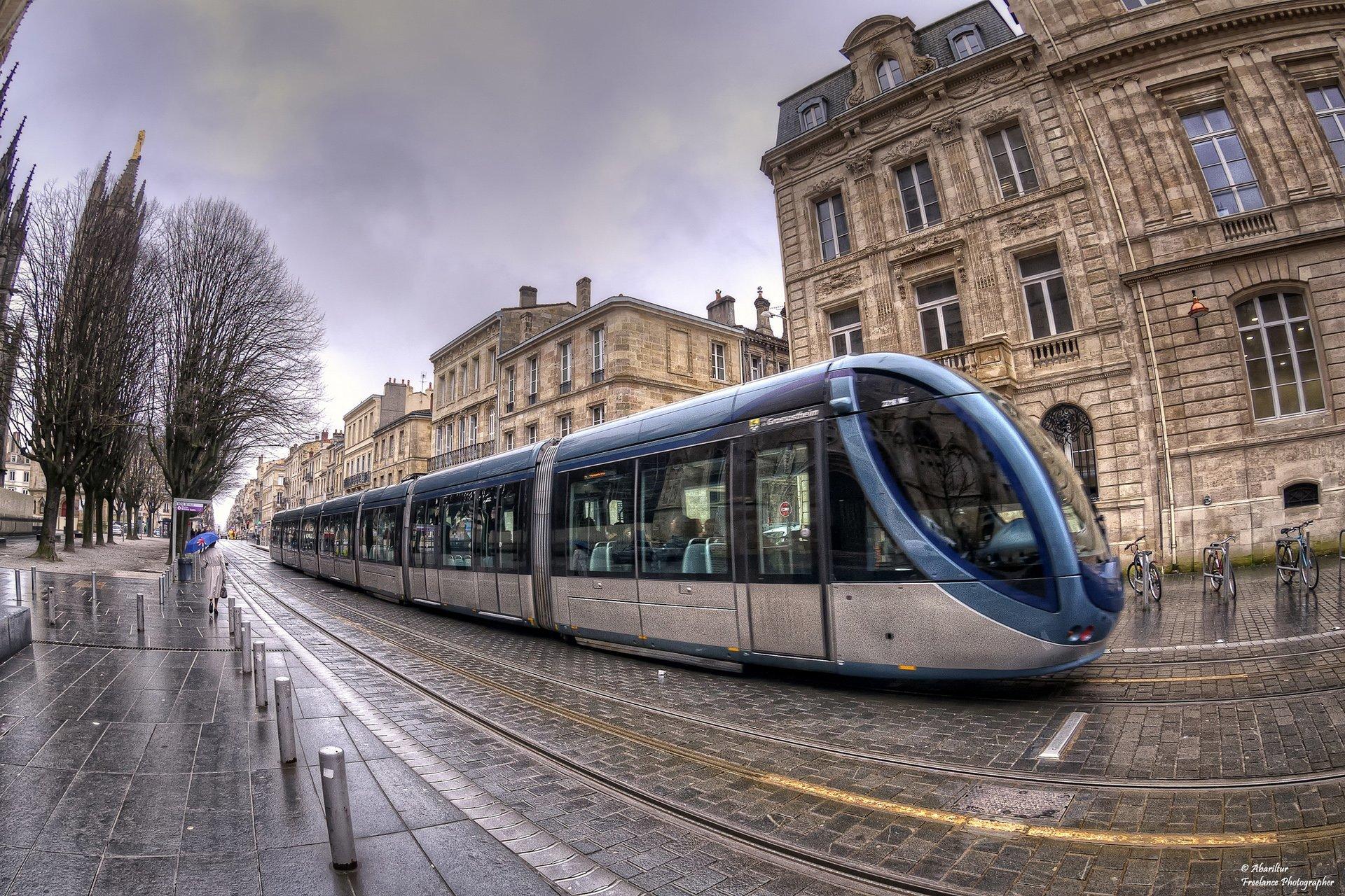 bordeaux tramvay