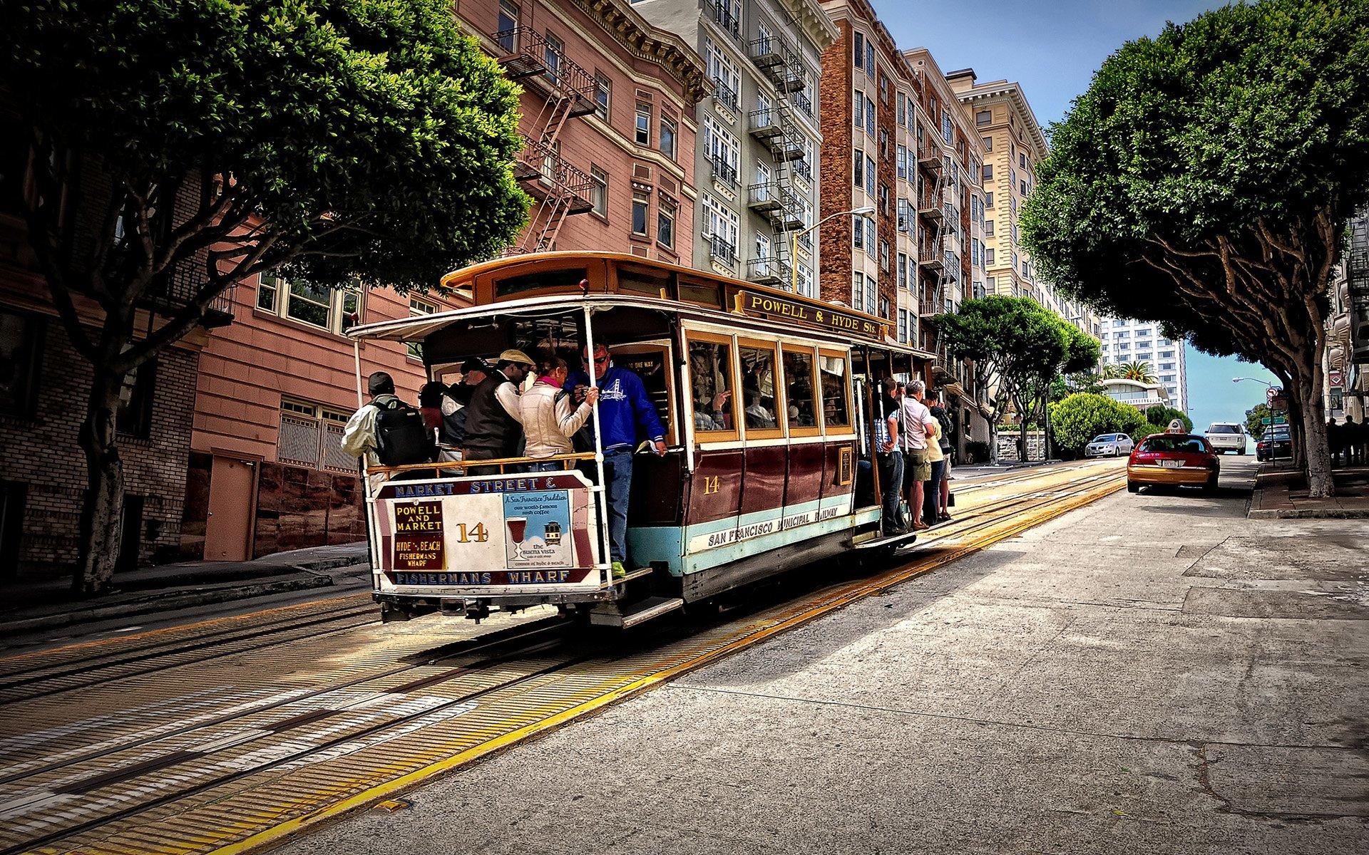 california tramvay