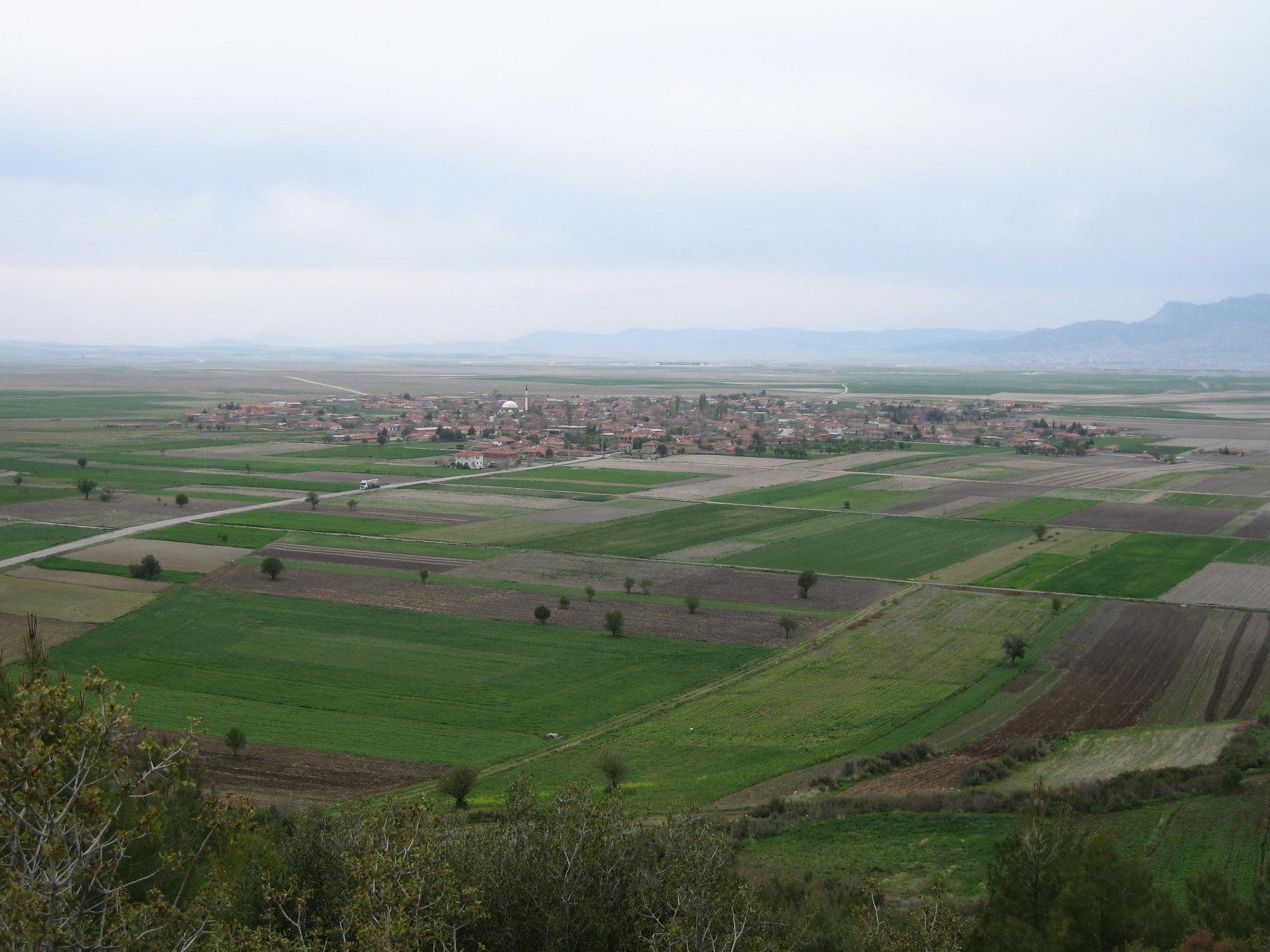 Çaltı köyü