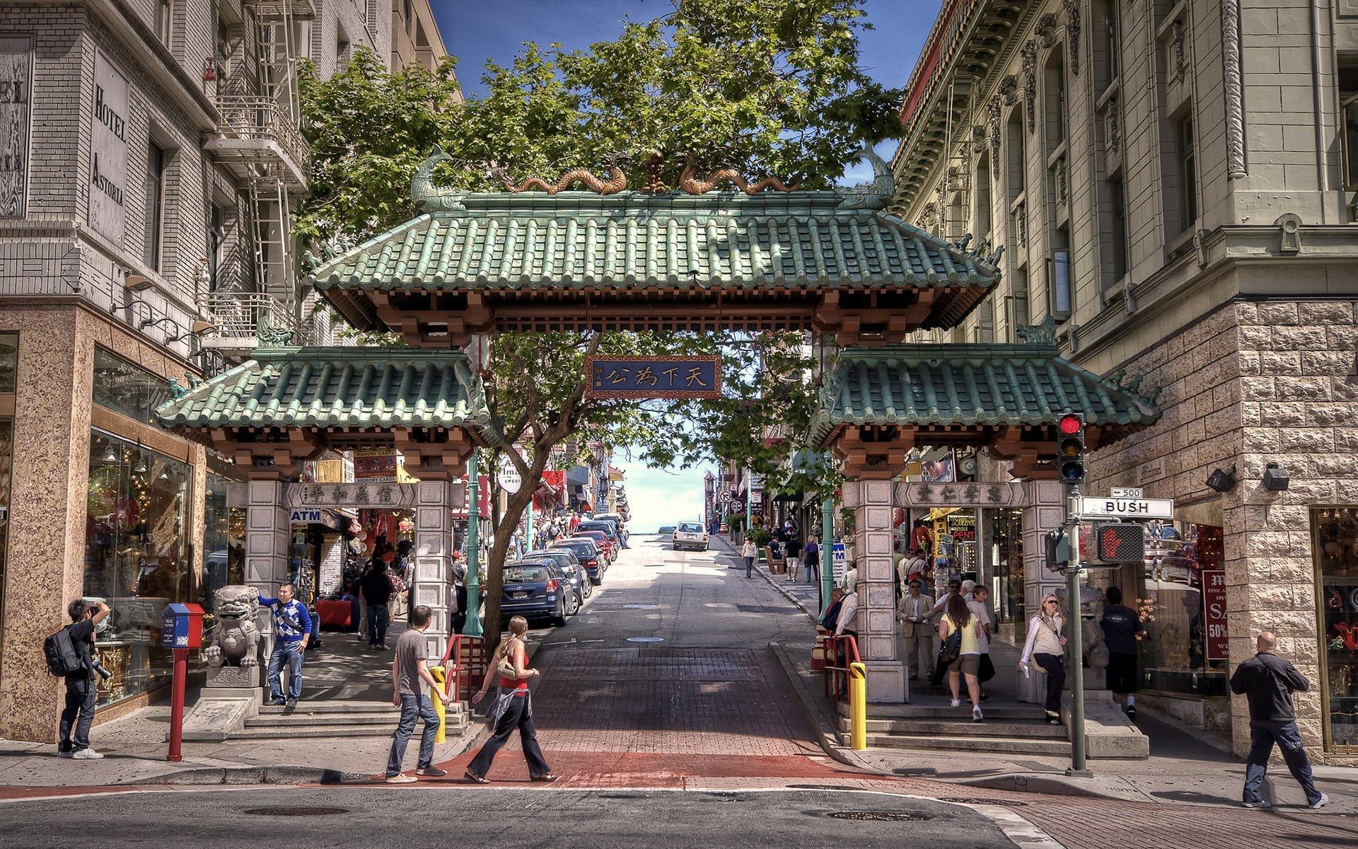 chinatown kapısı