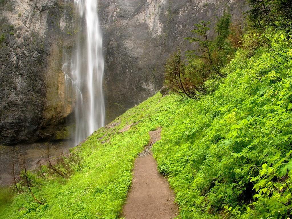 Doğa Harikası Şelale