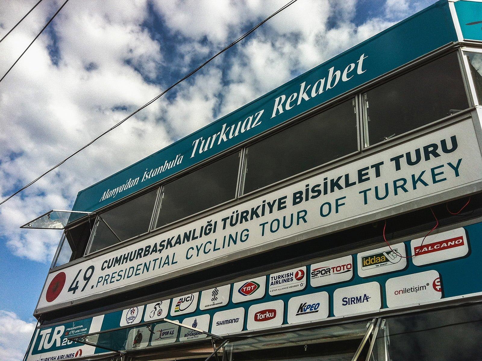 cumhurbaşkanlığı bisiklet turu sponsorları