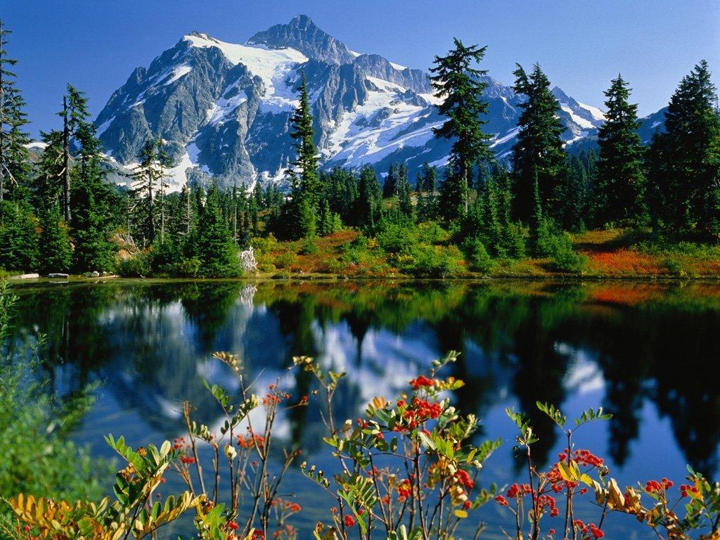 dağ ve göl