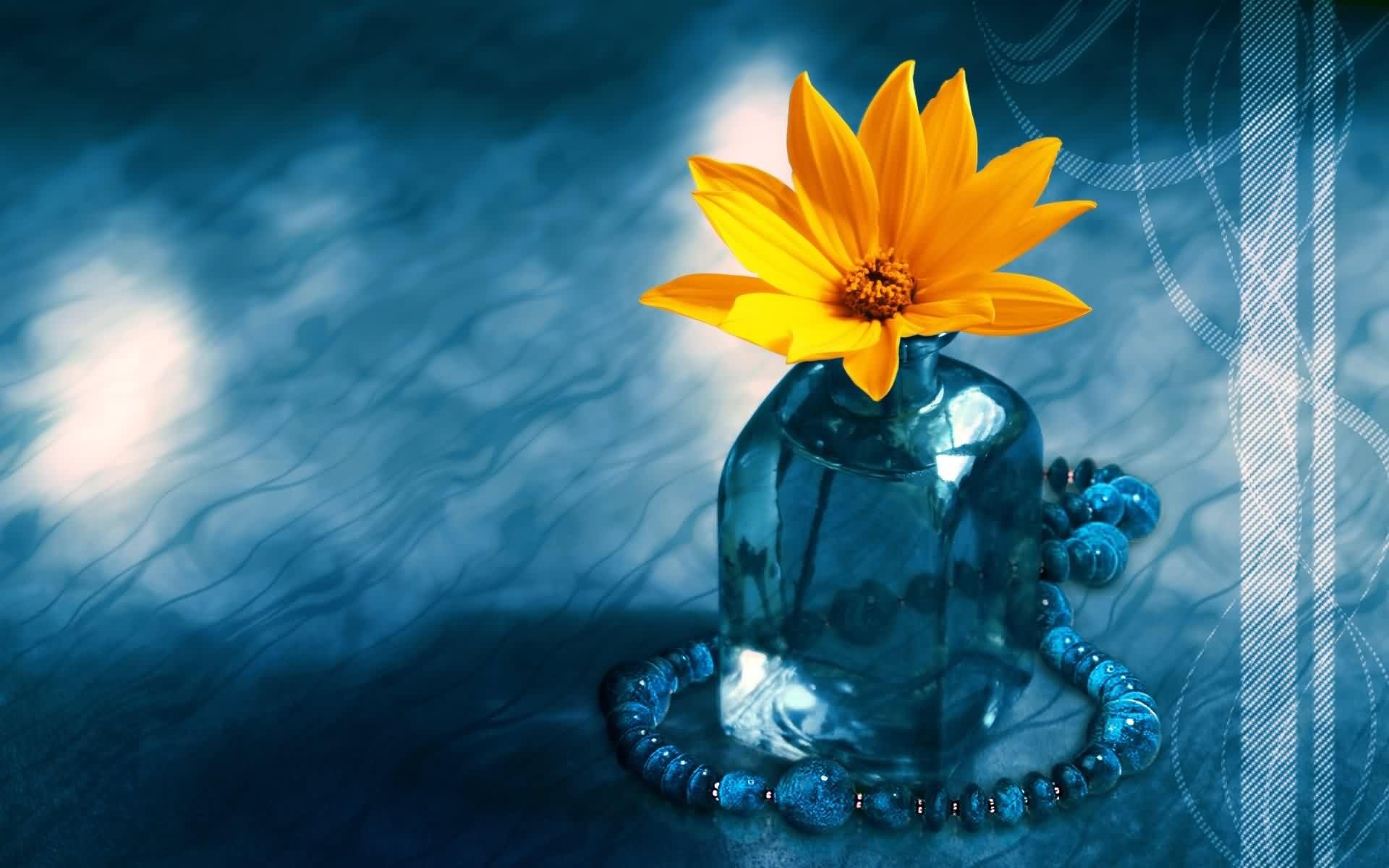 3D Çiçek Resmi