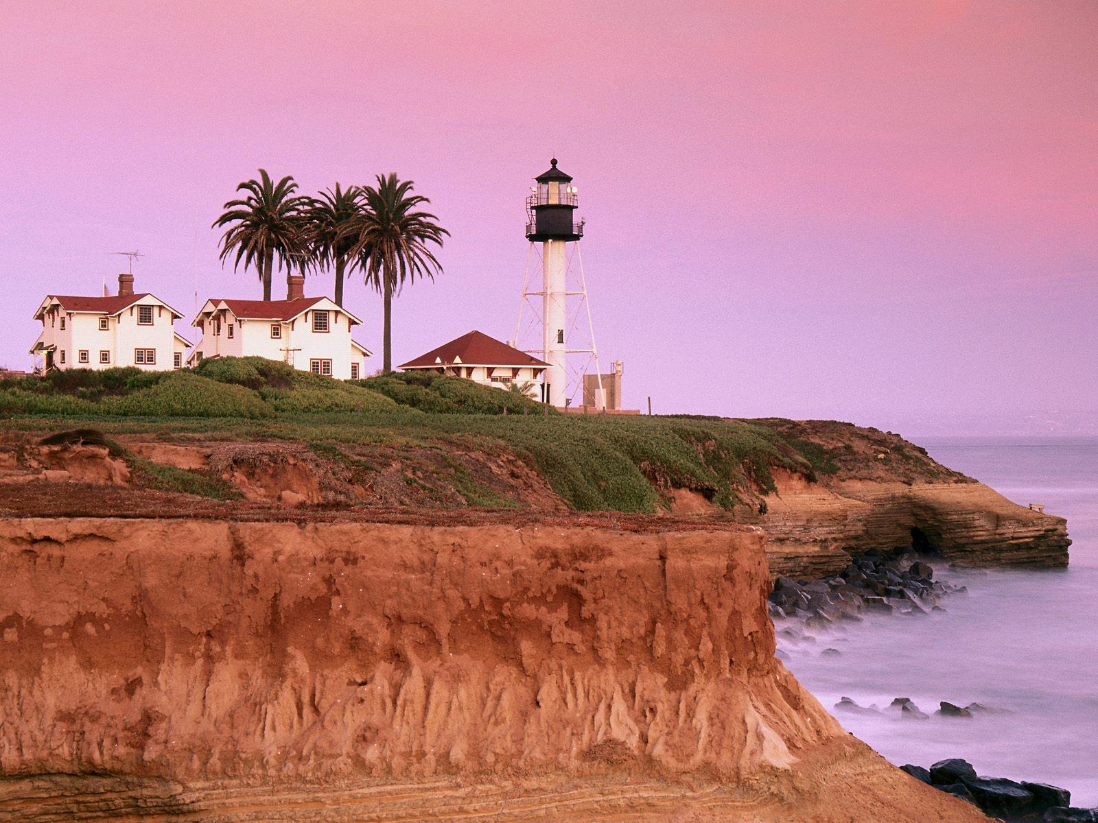Güzel Deniz Feneri Manzarası