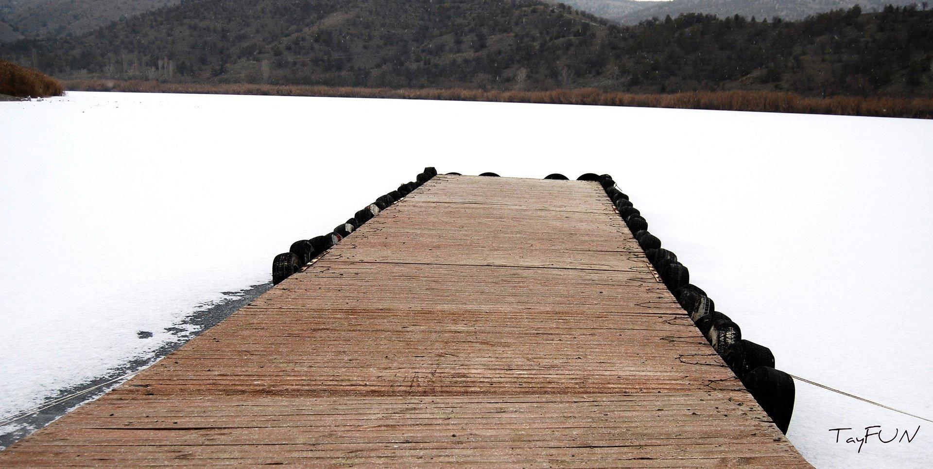 donmuş eymir gölü
