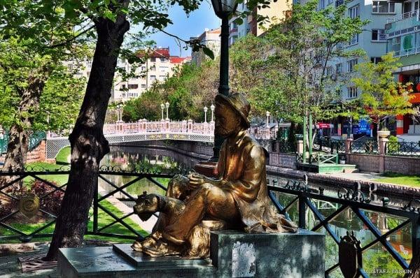 eskişehir heykel