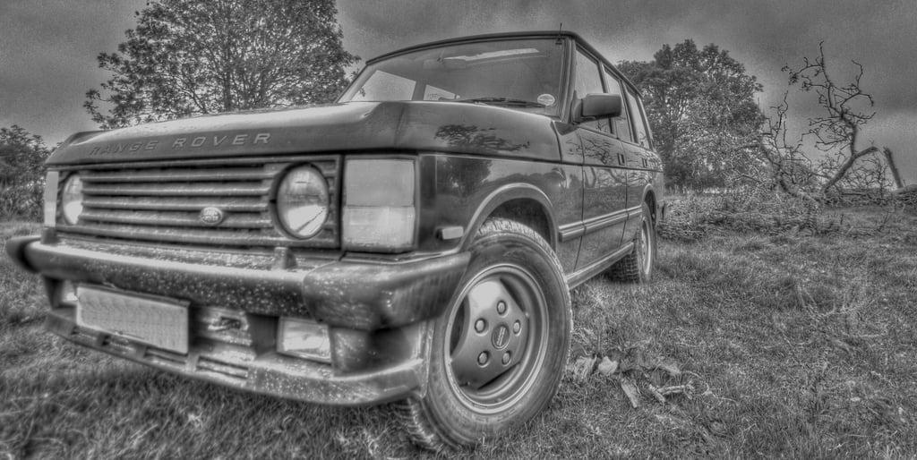 eski kasa range rover