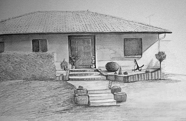 ev doğal çizim
